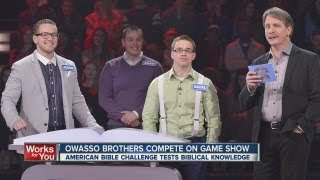 Owasso brothers among 18 teams selected for Game Show Network's 'The American Bible Show'