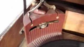 1947 Zenith TUBE 78 Record Turntable Player