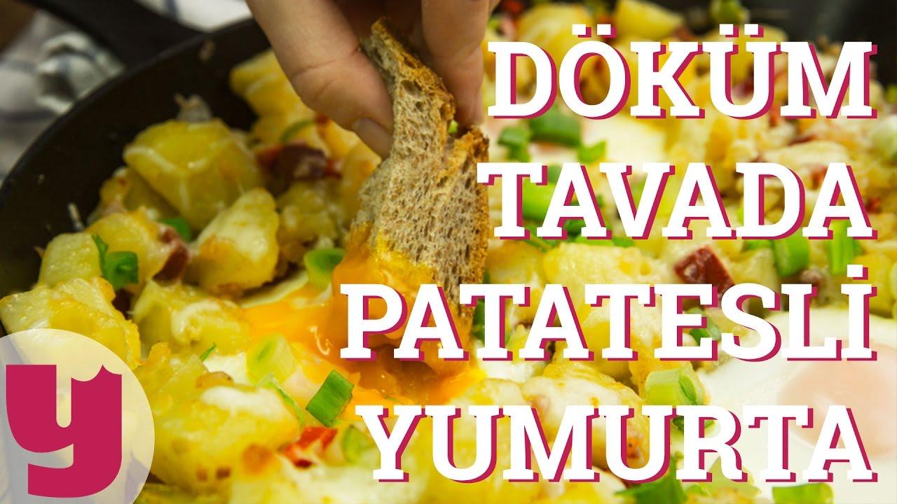 Tatlı Patates ile Patatesli Yumurta