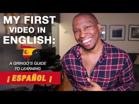 How I Learned Spanish Fluently | 👂English Listening Practice