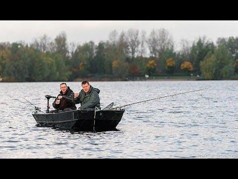Roofviswedstrijd van de AHV op het Nieuwe Meer te Amsterdam 05-11-2017