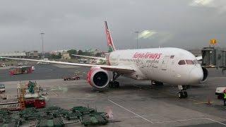Kenya Airways Boeing 787-8 Sunny Take Off and Climb out of Nairobi, Kenya