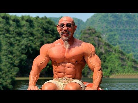 Master Roshi in Real Life | Old Workout Monster | Motivation 2018