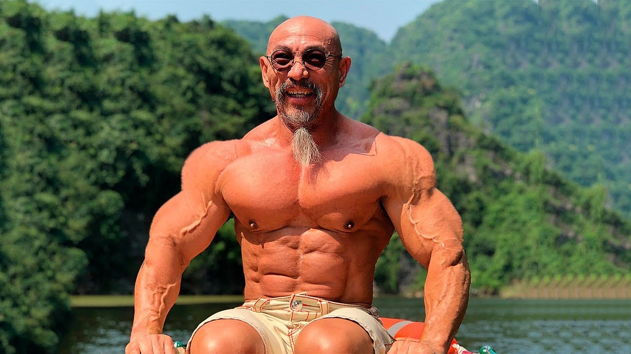 Master Roshi In Real Life Old Workout Monster