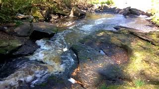 Озёрный. Водопад на речке Озерной.