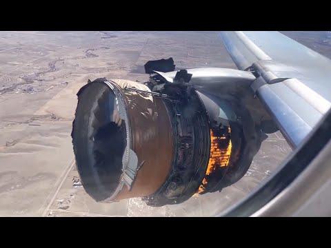 Debris fall from plane engine during emergency landing near Denver