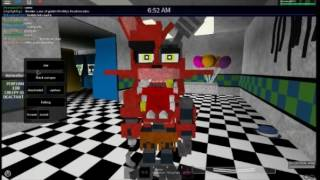 Withered Foxy VOICE (ROBLOX)