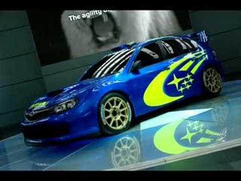 2008 Subaru Impreza Wrc Concept Frankfurt 2007 Youtube