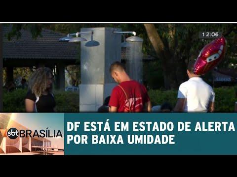 Domingo registrou a umidade mais baixa do ano no DF | SBT Brasília 13/08/2018
