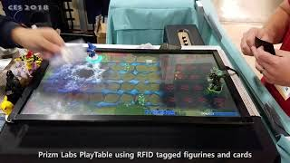 CES 2018 PlayTable