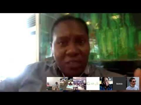 International Women's Day 2015 - GOOGLE AFRICA Hangout