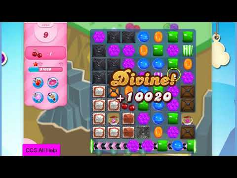 Candy Crush Saga Level 2903 20 moves NO BOOSTERS Cookie