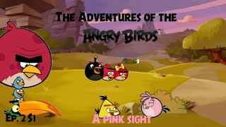 The Adventures of the Angry birds series: S1 Ep2 A Pink sight