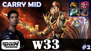 w33 dragon knight carry mid dota 2 pro mmr gameplay 2