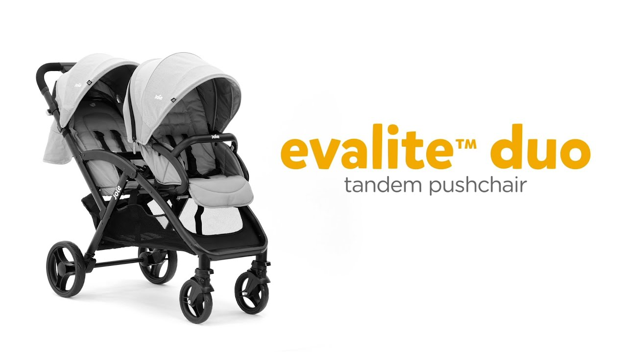 Joie evalite™ duo | Leading Tandem Pushchair For Newborns & Toddlers
