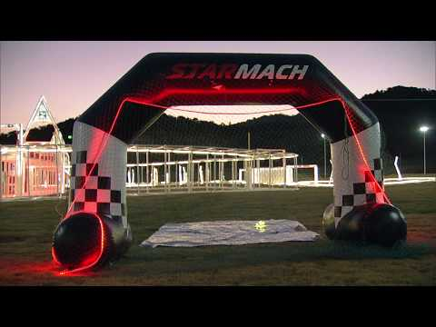 Start of the 2019 FAI World Drone Racing Championship Grand Final