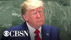 "Trump tells U.N.: ""The future does not belong to globalists"""