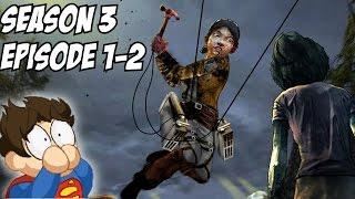 The Walking Dead Season 3 Episode 2 & 1 Gameplay Walkthrough Part 1 Ending Ties That Bind' Part I
