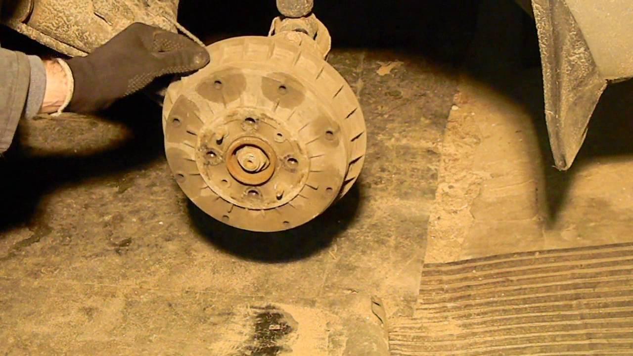 Замена подшипника задней ступицы ВАЗ 2110-2112