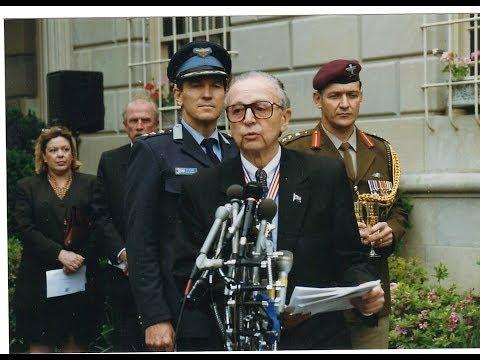 Ambassador Harry Schwarz heralds end of apartheid with Mandela inauguration