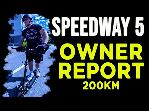 Speedway 5 Review.  200km Owner Report.  Electric Scooter.