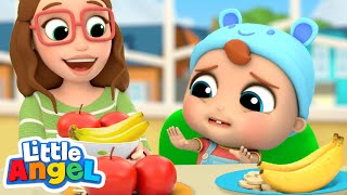 Yes Yes, Fruits Are Good For You! | Healthy Habits | Little Angel Kids Songs & Nursery Rhymes