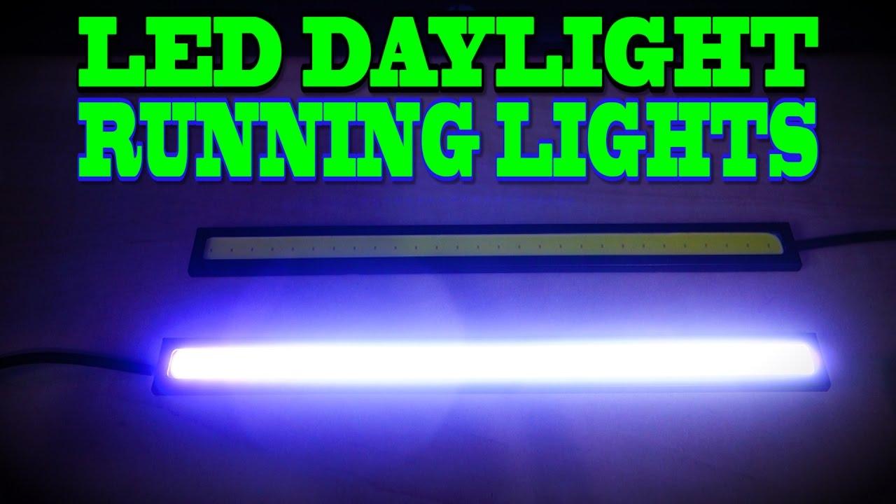 12v cob led strips led daytime runningfog lights youtube 12v cob led strips led daytime runningfog lights mozeypictures Choice Image