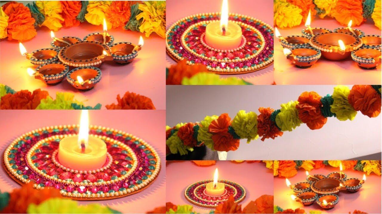 DIY Diwali Decoration Ideas ( Easy And Creative) Best Room