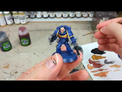 How I Paint Things - Easy Ultramarines