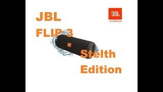 jBL Flip 3 Steаlth Edition -  Новая колонка от JBL???