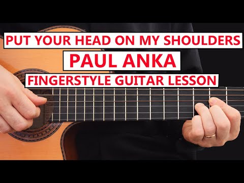 put-your-head-on-my-shoulders---paul-anka---|-fingerstyle-guitar-lesson-tabs