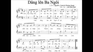 Dâng Lên Ba Ngôi   -  N V Tuyên & P Quang  -   (allvoices) .