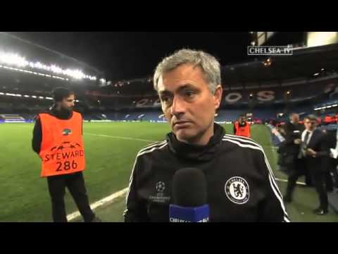 Download Zaltan Ibrahimovic wishes Mourinho 'Good Luck' in the Champions League 2014 3   YouTube1