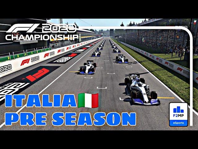 F1 2020 FMP Pre-Season - F2MP #1 Monza
