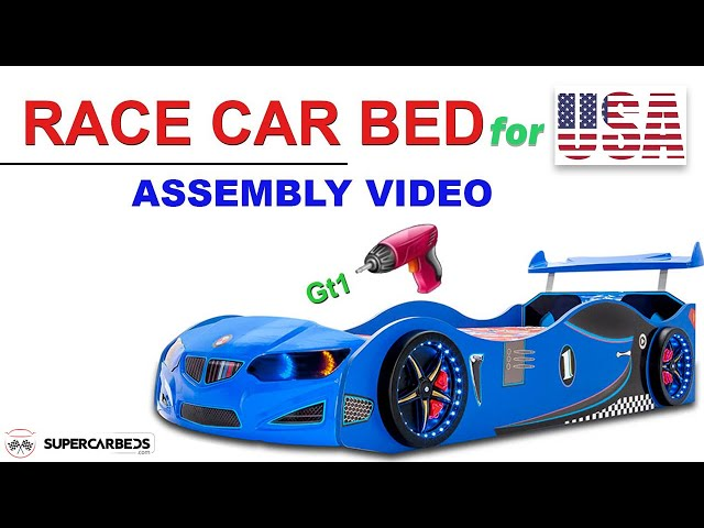 Car bed assembly video - U.S.A