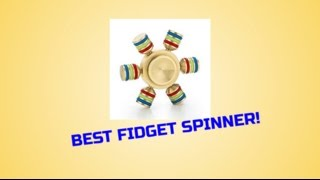 AMAZING SIX-SIDED GOLDEN FIDGET SPINNER! | UNBOXING & REVIEW