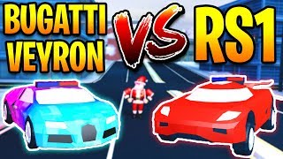 TORPEDO VS BUGATTI SPEED TEST! THIS IS THE FASTEST CAR in Jailbreak | Roblox Jailbreak Winter Update