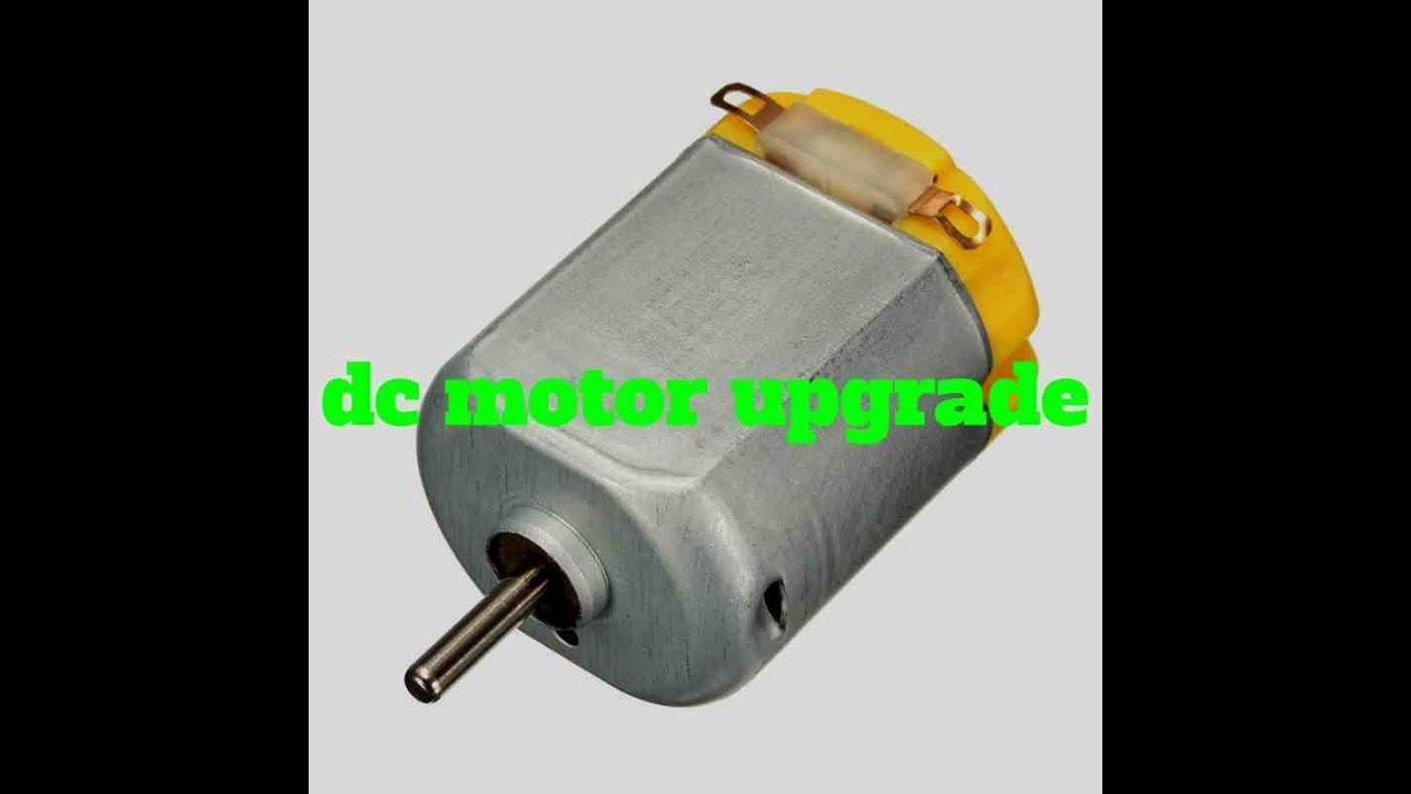 How to upgrade dc motor how to make upgrade motor brush for Etek r brushed dc electric motor