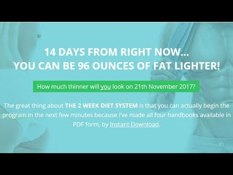 how to lose weight fast in 2 weeks youtube