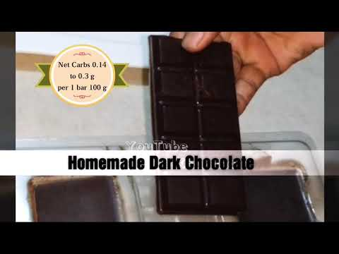 Sugarfree Vegan Low Carb  Keto Dark Chocolate Homemade Lindt | Lily's, 3 Ways