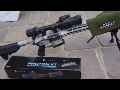 Long Range Digital Night Vision Riflescope—Sightmark Photon XT Review