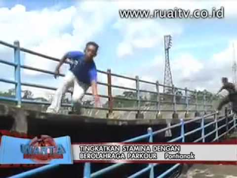 Parkour Freerun Pontianak on Ruai TV