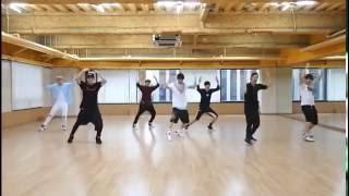 got7 around the world dance practice 0 5x mirrored