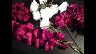 An April Affair: Make A Silk Floral Wedding Arch