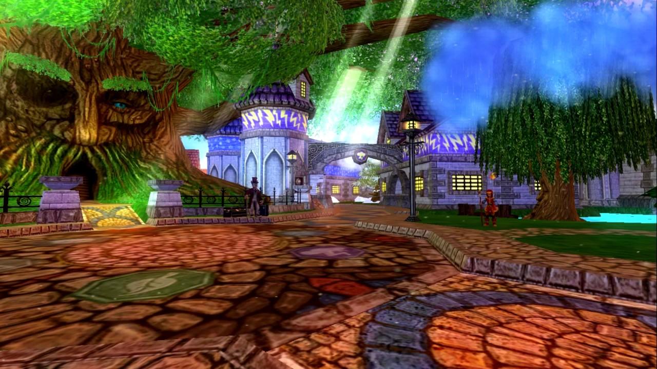 Wizard101 Ambience: Ravenwood #1