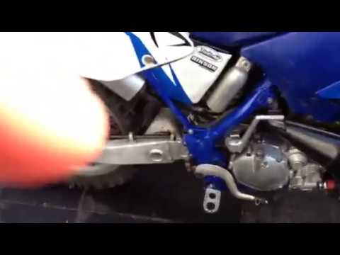 Yz 125 oil leaking from exhaust pipe help
