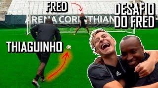 Penalidade Máxima com Thiaguinho na Arena Corinthians!
