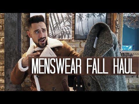 Menswear Fall Haul | Reiss ASOS Zara | Carl Thompson