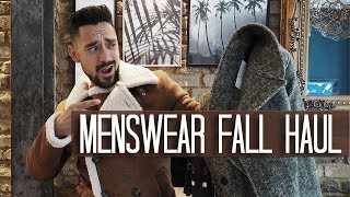 Menswear Fall Haul | Reiss ASOS Zara | Carl Thompson