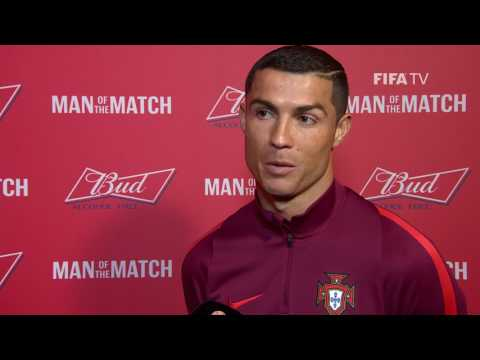 Cristiano Ronaldo: FIFA Man of the Match - Match 10: New Zealand v Portugal